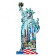 Socha Svobody, New York - tvarové