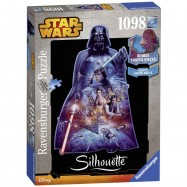 Star Wars Silhouette Puzzle Darth Vader