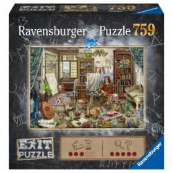 Exit Puzzle: Umelecké štúdio 759 dielikov