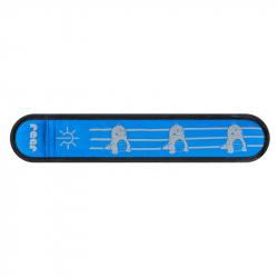 Reer Páska reflexní s LED světlem modrá