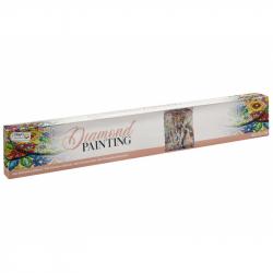 Malování pomocí kamímků Diamond Slon 40x50 cm