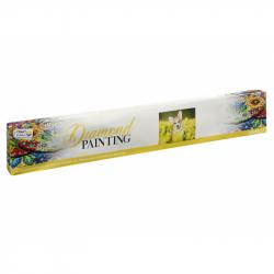 Malování pomocí kamímků Diamond Pejsek 40x50 cm