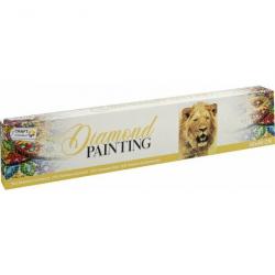 Malování pomocí kamímků Diamond Lev 30x40 cm