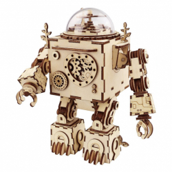 RoboTime 3D skladačka hracie skrinky Robot Orfeus