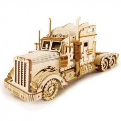RoboTime drevené 3D puzzle Americký ťahač