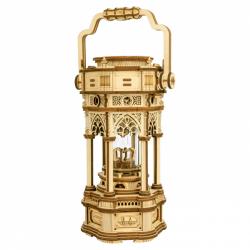RoboTime 3D skladačka hracie skrinky Viktoriánska lampáš