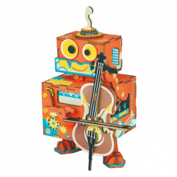 RoboTime 3D skladačka hracie skrinky muzikálny robůtek