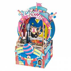 RoboTime 3D skladačka hracie skrinky Malý cirkus
