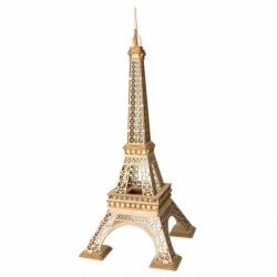 RoboTime drevené 3D puzzle Eiffelova veža