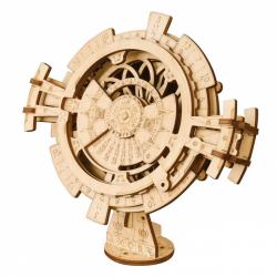 RoboTime 3D drevené mechanické puzzle Stolový kalendár