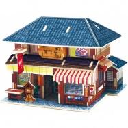 Robotime dřevěná skládačka Japonská cukrárna