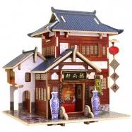 Robotime dřevěná skládačka Čínská čajovna