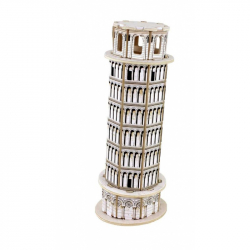 Robotime dřevěná skládačka malý Šikmá věž