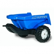 Vlečka za traktor KIPPER malá modrá
