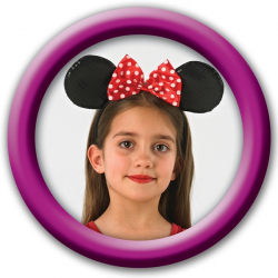 Minnie Mouse: čelenka - deluxe
