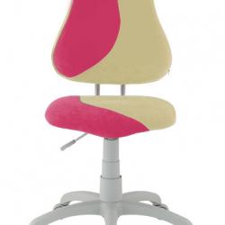 Rostoucí židle Fuxo S Line Suedine růžovo-béžová 801