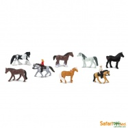 Safari Ltd - Tuba - Koně a jejich jezdci