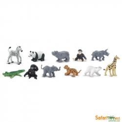 Safari Ltd - Tuba - Mláďatá zo ZOO