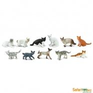 Safari Ltd - Tuba - Domácí kočky