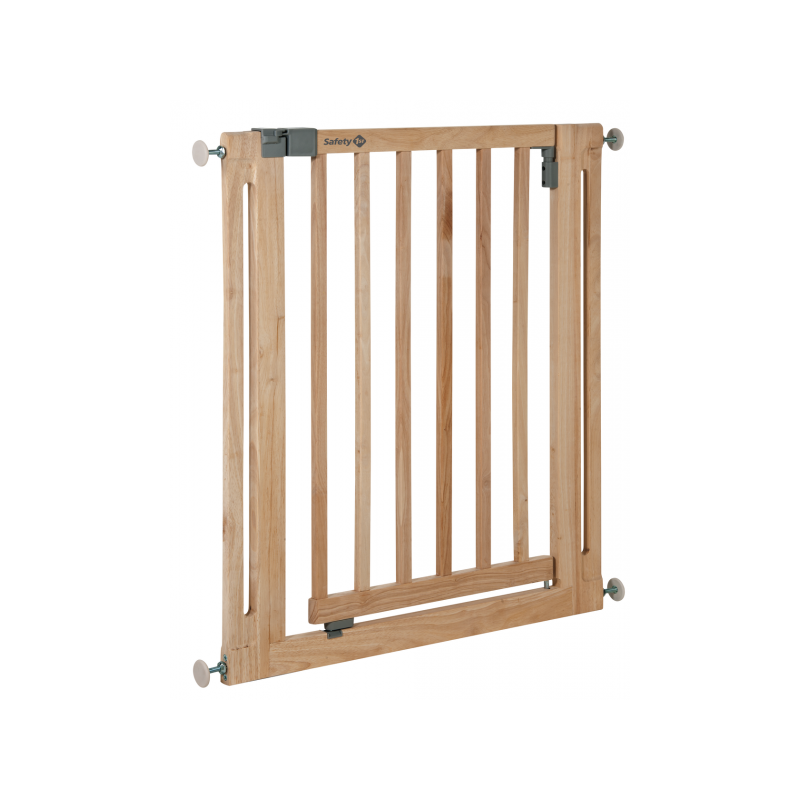 Barrier Easy Close Wood Naturalne