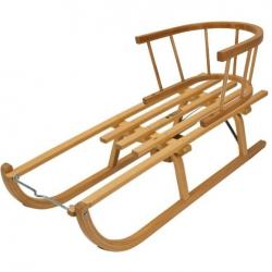 Dřevěné sáňky Davoser délka 100cm