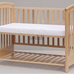 Piankowy materac do łóżeczka Scarlett Lux 120x60x8 cm