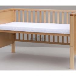Piankowy materac do łóżeczka Scarlett Lux 140x70x8 cm