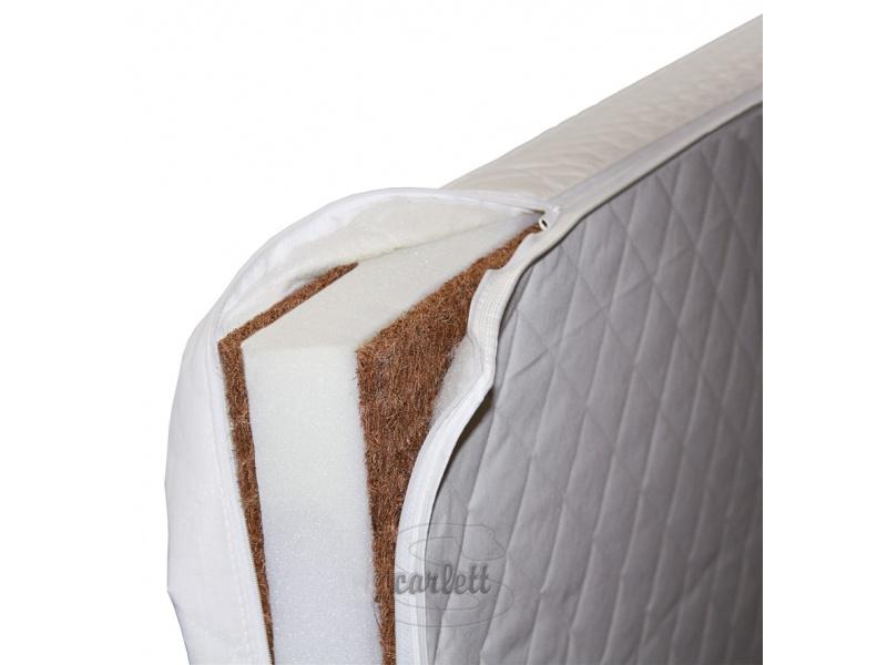 Matrace kokos-molitan-kokos 120x60x8