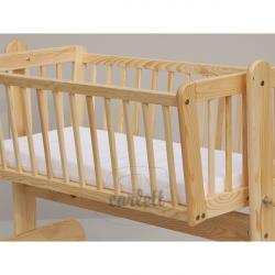Pianowy materac do kołyski i łóżeczka Baby Scarlett 90x41x6 cm