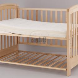 Materac do łóżeczka Denisa + klin 120x60x12 cm