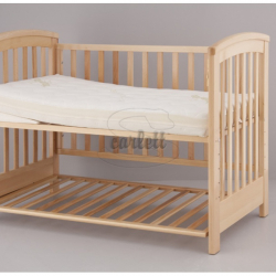 Materac do łóżeczka Andrea + klin 120x60x12 cm