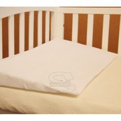 Poduszka, klin do łóżeczka, 60x37x6,5 cm