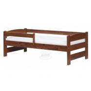 Łóżko dla dzieci Sisi buk - orzech
