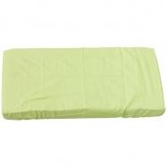 Prostěradlo do postýlky - Scarlett Blanka - zelená 120 x 60 cm