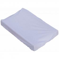 Prestieradlo na prebaľovaciu podložku alebo matrac do kolísky či koša - biela 85 x 55 cm