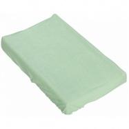 Prostěradlo na přebalovací podložku nebo matraci do kolébky či koše  - zelená 85 x 55 cm