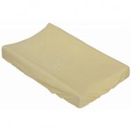 Prostěradlo na přebalovací podložku nebo matraci do kolébky či koše - žlutá 85 x 55 cm