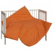 SET peřinka + polštář Scarlett Vega - oranžová 100 x 135