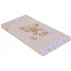 Materac do łóżeczka Scarlett Scarlett Grisi 120 x 60 x 8 cm - beżowy