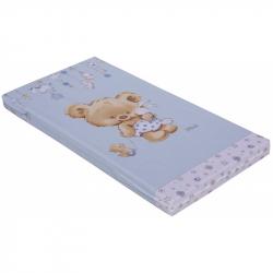 Materac do łóżeczka Scarlett Scarlett Grisi 120 x 60 x 8 cm - niebeski