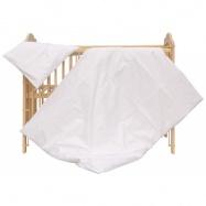 Detské obliečky 2dielne - Scarlett Blanka - biela 100 x 135 cm