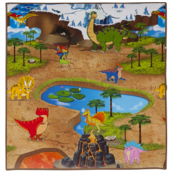 Scarlett dětský kobereček DinoLand - 120 x 100 cm
