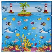 Scarlett detský koberček Morský svet - 120 x 100 cm