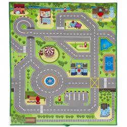 Scarlett dětský kobereček 3D CITY - 120 x 90 cm