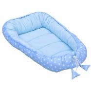 Hnízdo pro miminko Scarlett Hvězdička - modrá