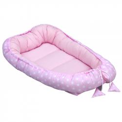 Hniezdo pre bábätko Scarlett Hviezdička - ružová