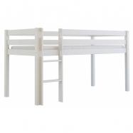 Vysoká postel Scarlett TOM - bílá - 200 x 90 cm