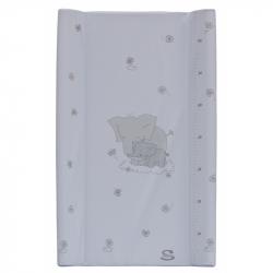 Przewijak mata z kieszenią Scarlett Slon 80 x 50 cm - biały