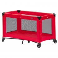 Dziecięce turystyczne łóżeczko Scarlett Piki - czerwony