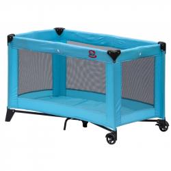 Dziecięce turystyczne łóżeczko Scarlett Piki - niebieski